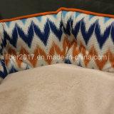 공장에 의하여 주문을 받아서 만들어지는 다채로운 지구 둥근 개 침대