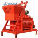 Js1000 déchargeant 75m3 par machine de mélangeur concret à vendre