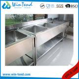 レストランのための商業ステンレス鋼の台所洗浄流し