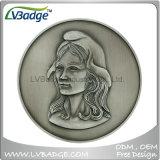 Moneda de metal personalizados como souvenir regalos