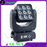 9X10W RGBWプロ移動ヘッドビームDJ軽い力LEDのマトリックス