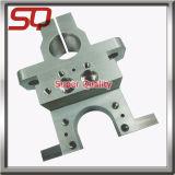 Piatto lavorante di alluminio di CNC, pezzo meccanico di CNC