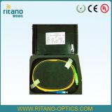 OTDR Box/Fiber Optic Plastic OTDR Box with G. 652D Cable/Fiber Optic OTDR Spools Cable
