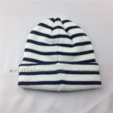 Обыкновенные толком шлем Knit/крышка с изготовленный на заказ ярлыками, шлем Beanie таможни POM POM