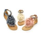 Износа пляжа размера 34-43 Богемии оптовой продажи взрыва Aliexpress сандалии пальца ноги большого плоские