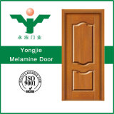 Porta interior laminada da melamina com a porta da melamina da película do PVC