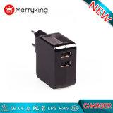 De EU ons Lader USB van de Havens van de Stop 5V 2.4A 3.4A de Dubbele Multi met FCC van Ce UL
