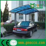 ポリカーボネートの屋根(225CPT)が付いている携帯用アルミニウムフレームのCarport