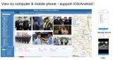 GPS HD van WiFi van lage Kosten 4G de Draagbare Camera van het Netwerk PTZ