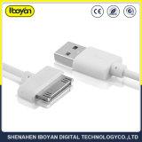 이동 전화를 위한 100cm USB 데이터 번개에 의하여 주문을 받아서 만들어지는 케이블