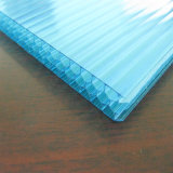 Hoja reforzada del emparedado del policarbonato del panal para el uso industrial