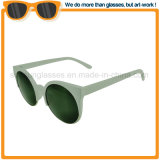 Venda por grosso de lente espelhada do Olho de Gato óculos de sol Fashion Promoção óculos de sol