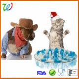 애완 동물 부속품 실리콘 느린 공급 개 고양이 사발