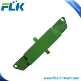 Adaptador óptico unimodal/con varios modos de funcionamiento de fibra de E2000 APC/Upc