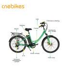 La Ciudad de Moda 2018 Bicicleta eléctrica con batería de litio