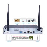 Macchina fotografica del IP del kit del sistema 4chs WiFi NVR della macchina fotografica di WiFi di obbligazione di Wdm