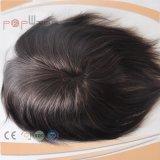 PU Edge Lace Front Mens Toupee (PPG-L-0893)