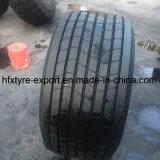 Neumático radial del neumático 435/50r19.5 445/65r22.5 del acoplado sin tubo