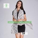 Nova roupa de algodão europeus Oblíqua Xale Lattice Fashion Lady Cachecol