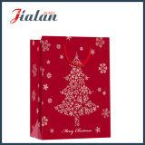 Regalos al por mayor de la Navidad de la promoción pila de discos la bolsa de papel del portador de las compras
