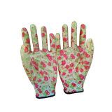 заводская цена для защиты рук нитриловые перчатки работы в саду цветочными орнаментами