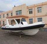 Barche gonfiabili rigide Cina del grande blu marino di Liya 7.5m