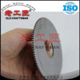 Le disque solide de carbure cimenté de tungstène a vu le coupeur
