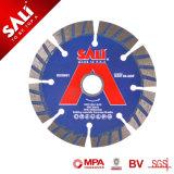 Blad van uitstekende kwaliteit van de Zaag van de Diamant van de Pers van Sali 4inch het Koude Concrete