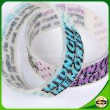 Personifizierter Text-SilikonWristband mit der Farbe gefüllt