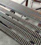 Porte coulissante en acier Rack d'engrenage en acier inoxydable