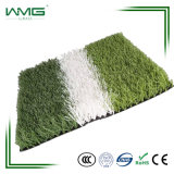 Grama ao ar livre falsificada do futebol/futebol Warrantly longo da grama