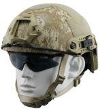 Fast Militar de camuflagem de Kevlar Bulletproof capacete