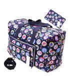 Мешок Tote багажа мешка перемещения мешка перемещения складным большим проверенный Duffel