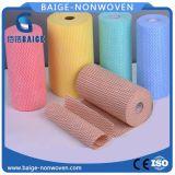 Tessuto non tessuto di Spunlace per il panno di pulizia non tessuto