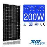 200W моно панелей солнечных батарей с 25 лет гарантии
