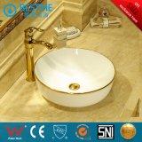 Dispersore di ceramica Bc-7054wk di Coutertop del lavabo di figura rotonda