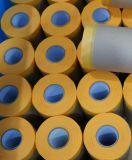 Cinta adhesiva protectora + papel, para la decoración del hogar, el papel de enmascarar
