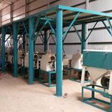 곡물 인도 (80t)에 있는 가는 밀가루 선반 플랜트를 가공하는 곡물