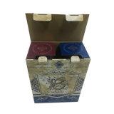 Caisse d'emballage personnalisée par quantité élevée de vin pour le marché
