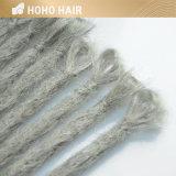 Grey estensione sintetica dei capelli di Dreadlocks del Crochet da 20 pollici