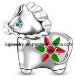 316 grânulos bonitos do cavalo da jóia do aço inoxidável