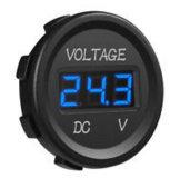 방수 12V 검정, 빨간불, LED 램프, 배, 세륨 증명서를 가진 자동차, 기관자전차를 위한 3 디지털 표시 장치 전압계