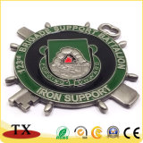 Logos client insigne métallique