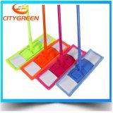 Плоский Mop Microfiber уборщика пола пусковой площадки чистки пыли домочадца Mop