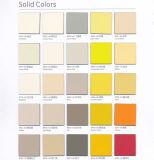 La Decoración de pared impermeable de color sólido laminado hpl Hoja de paneles para la partición de wc