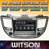 Hyundai IX35 Tucson 2016년을%s Witson Windows Radio Stereo DVD Player