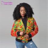 새로운 겨울 아프리카 입는 Dashiki에 의하여 인쇄되는 긴 소매 재킷