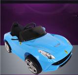 전기 장난감 차가 세륨 승인되는 파랑에 의하여 농담을 한다