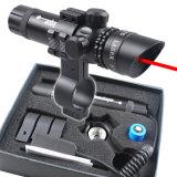 Вне объема лазера Sighter регулировки красного с свободно держателем