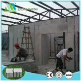 Panneau de mur préfabriqué/léger de sandwich au matériau de construction ENV pour Projetcs